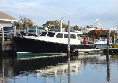 42 Cape Dory Bruno in Ponquogue Marine boat slip