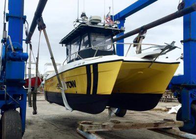Sea Tow pre season service | marine hoist, travel lift