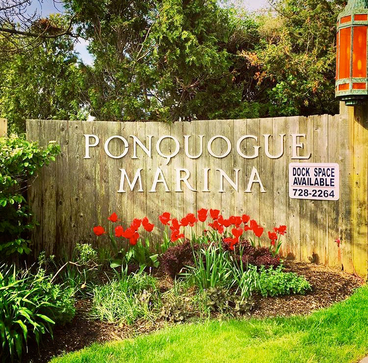 Ponquogue Marine Basin Front Entrance Gate